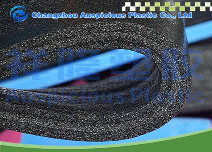 Flexible Black EPE Foam Sheet , Package Protection Waterproof Foam Mat